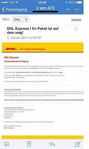 Dhl Express Online : vorsicht vor angeblichen dhl express mails anti spam info ~ Buech-reservation.com Haus und Dekorationen