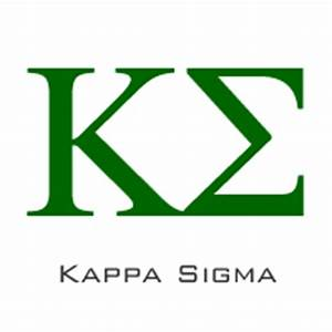 top 10 college fraternities With kappa sigma greek letters