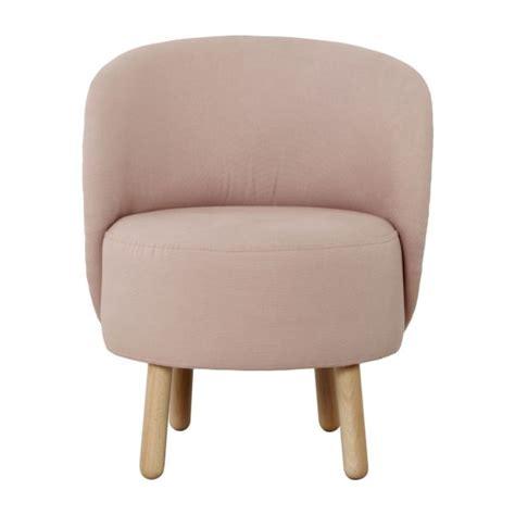 bold fauteuils fauteuil rose tissu habitat