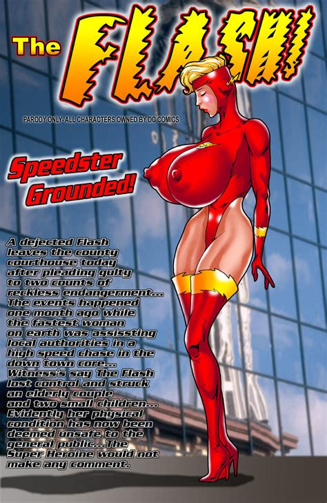 Smudge Speedster Grounded The Flash Porn Comics