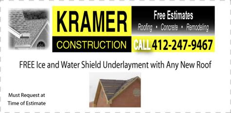 15218 Gps4us Coupon roofing specials kramer construction