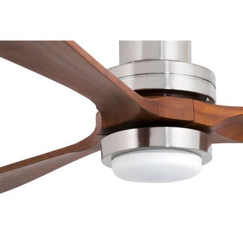 lantau de faro le ventilateur de plafond avec le led design m 233 lange de modernit 233 et de bois