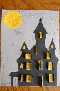 Halloween Haunted House Craft Ideas for Kids
