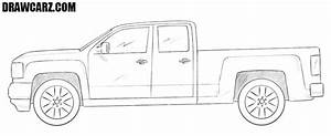 Draw Truck Step By Step