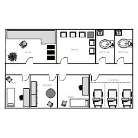 room floor plan designer healthcare facility plan exles