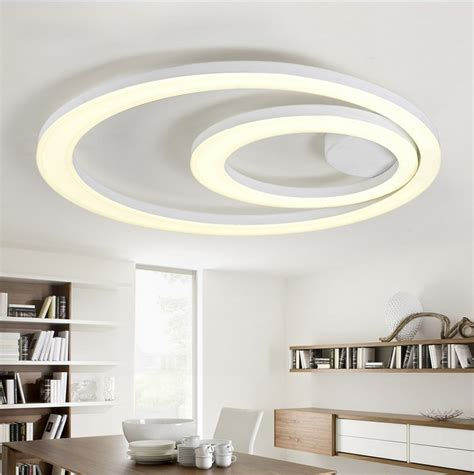 flush mount kitchen ceiling lights aliexpress buy white acrylic led ceiling light 6671