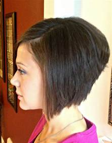 Hairstyle Line Bob Stacked Haircut
