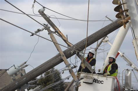 DTE Energy Power Outage Affects 110,000 In Southeast ...