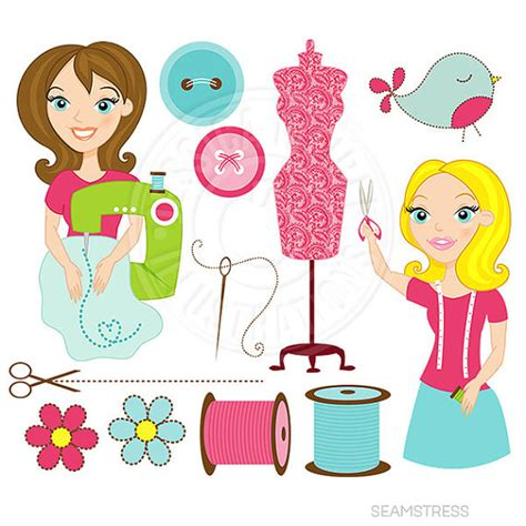 Sewing Clipart Seamstress Clipart Clipground
