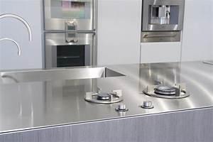 Hotte De Cuisine Silencieuse Bosch : beautiful plan de travail inox mm avec vier et icooking ~ Premium-room.com Idées de Décoration