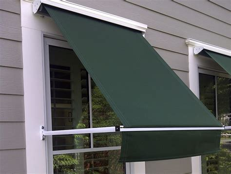retractable window awnings retractable deck patio awnings sunair