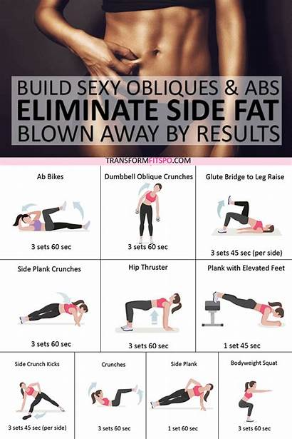 Side Abs Fat Obliques Workout Exercise Build