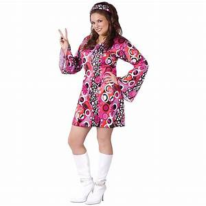 Go Go Dancer Costume Adult 60s Girl Mod 70s Disco ...
