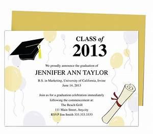 46 best Printable DIY Graduation Announcements Templates ...