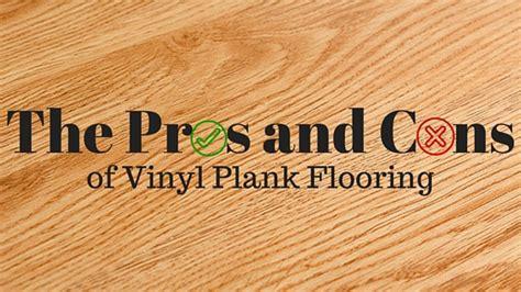 pros  cons  vinyl plank floors