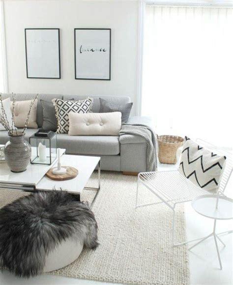 deco salon canape gris superbe salon gris et blanc canapé gris perle couleur