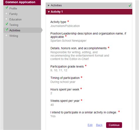 what to about the common app 2014 15 part 2