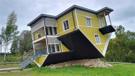 An Upside Down House In Estonia