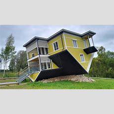 """tagurpidi Maja"" An Upside Down House In Estonia  Katuseu"
