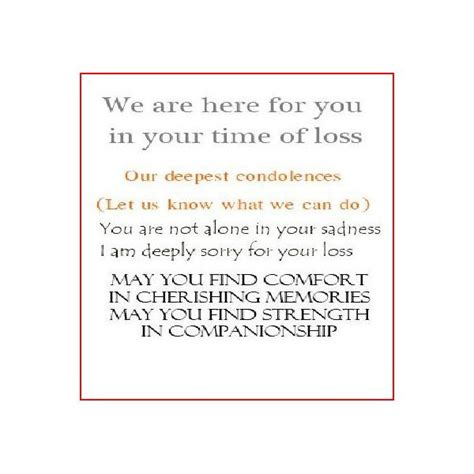 what to write in a sympathy card 7 best images of printable sympathy card messages sympathy card messages exles free