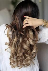 Ombré Hair Chatain : 1001 variantes du balayage caramel pour sublimer votre ~ Nature-et-papiers.com Idées de Décoration