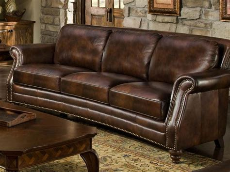 leather sofa with nailheads leather sofa with nailheads