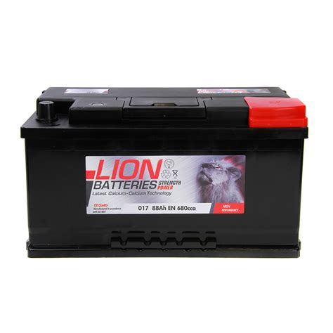 Type 017 Car Battery 680cca Oem Replacement Lion Batteries