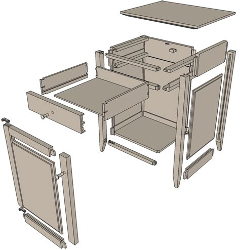 creating  project plan  sketchup finewoodworking