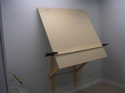 plans  diy large wall mount easel wetcanvas