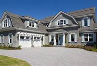 shingle style homes Shingle Style Gambrel Beach House - Home Bunch Interior ...
