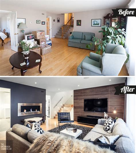 boost  homes decor   living room makeover