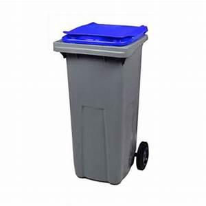 Poubelle 120 Litres : conteneur 120 litres conteneur poubelle ~ Melissatoandfro.com Idées de Décoration