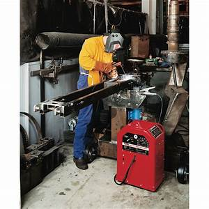 Lincoln Electric Ac  Dc 225  125 Stick Welder  U2014 230 Volts
