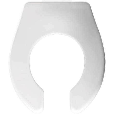 Church Baby Bowl Child Open Front Toilet Seat In White