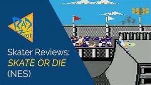 Skater Reviews: Skate or Die (NES) - Rad Rat Video