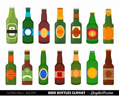 Beer Bottle Clipart Clip Alcohol Bier Digitale