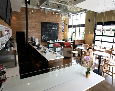 thatchers coffee shop showcases recycled design