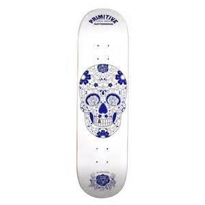 primitive victory white deck 8 1 primitive skateboard