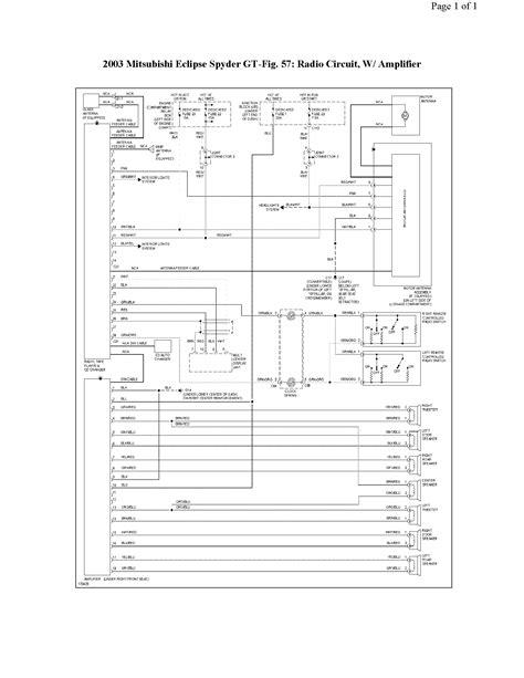 03 Eclipse Fuse Box Diagram by 2003 Eclipse Wiring Diagram Camizu Org