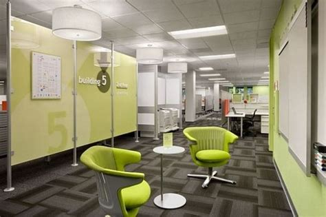 fun  colorful office ideas   space
