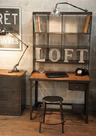 bureau postier armoire design industriel