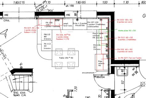 meuble bas cuisine avec plan de travail projet cuisine 7 messages