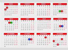 El calendario laboral para el año 2019 ya es oficial 7 de