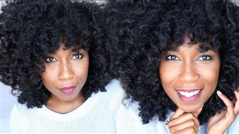 Jet Black Hair Dye Update 2 Months Later Natural Hair