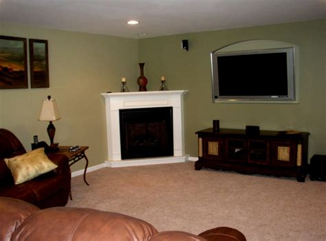 Corner Fireplace With Tv Stand Corner