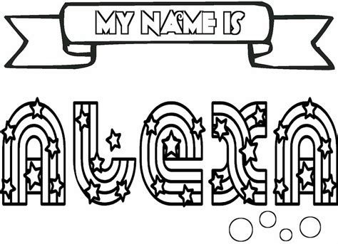 girls names coloring pages    print