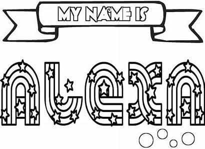 Coloring Pages Names Clipartmag Coloringtop