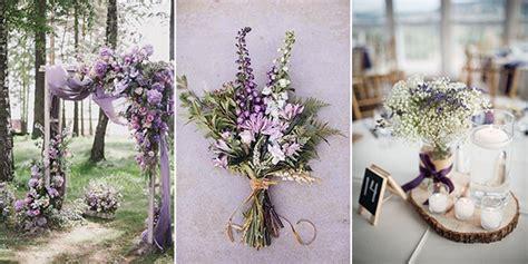 lavender wedding ideas  inspire  big day