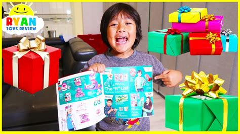 Ryan's Holiday Wishlist! The Best Presents For Kids At