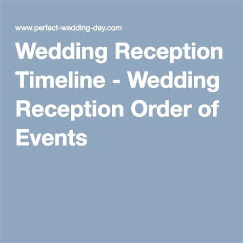 wedding reception program ideas  pinterest